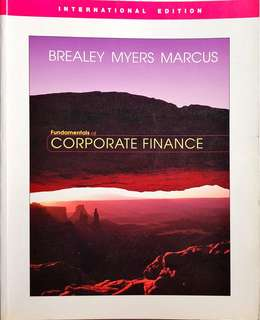 Brealey - Fundamentals of Corporate Finance