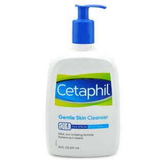 CETAPHIL Gentle Skin Cleanser for Face & Body 591ml