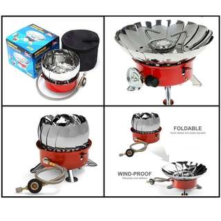Windproof Camping Stove - NEW