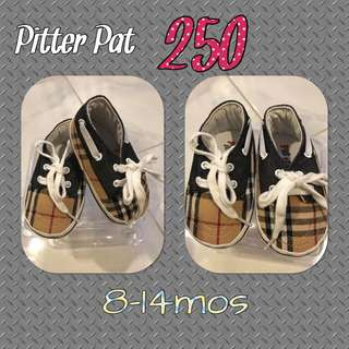 Burberry Pitter Pat Boy Shoes