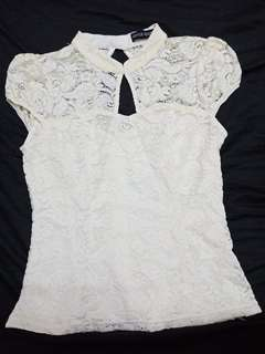 Joyce Couture Lace Top (Inc postage)