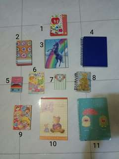 Assorted Notebooks/Notepads