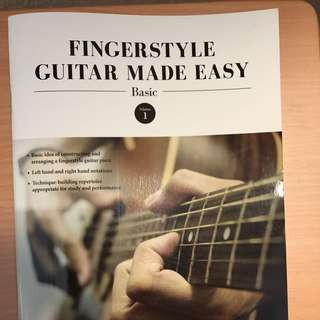 Guitar book for beginner