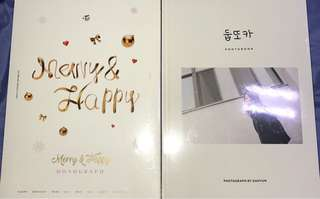 [For collection] TWICE Merry & Happy MONOGRAPH (Limited Edition) / TWICE DAHYUN PHOTOBOOK (Limited Edition)