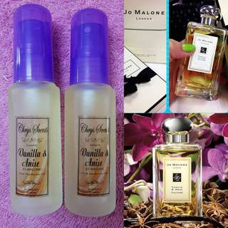 VANILLA AND ANISE BY JO MALONE