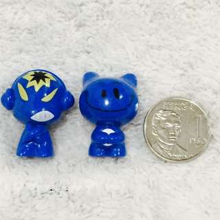 Blue Random Mini Figure Set
