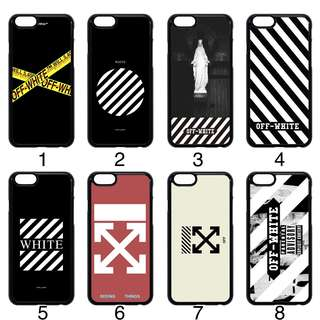Off white inspired Phone Case