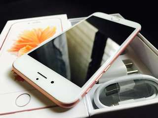 FORSALE 6s 64GB ROSEGOLD NO ISSUES GOOD AS NEW