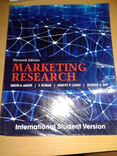 11th Edition Marketing Research