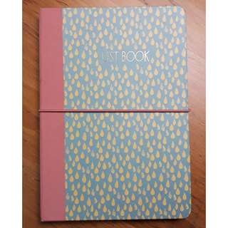 Paperchase List Book Notebook Sticky Notes