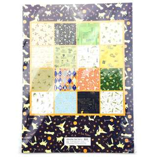 """16 Sheets Wrapping Paper Book """"Le Petit Prince"""""""