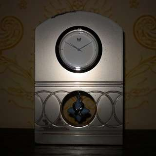 Wedgwood metal table clock
