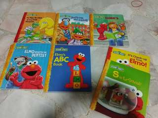 Assorted Children Books Sesame Street