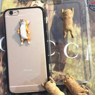 Sleeping Japanese Animal Figurine iPhone Case