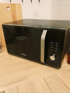 Samsung Microwave 28L with Steam Function (Free Pure Steam Bowl)