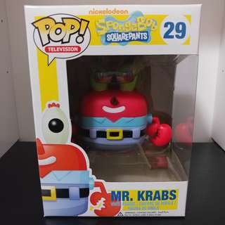 Funko Pop! Television Spongebob Squarepants - Mr. Krabs #029