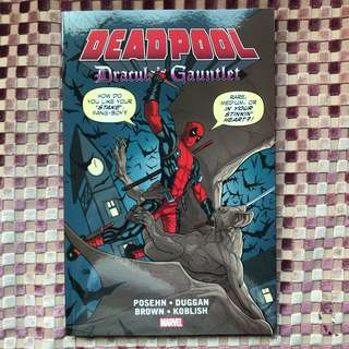 Marvel Comics: Deadpool - Dracula's Gauntlet.
