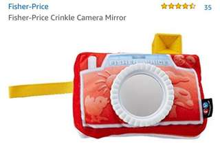 Fisher price camera toy