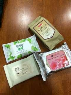 Brand new cleansing tissue