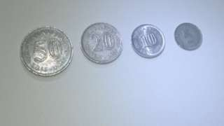 1988 Malaysian Old Coins
