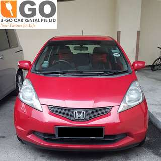 HONDA JAZZ 1.3 AUTO/HONDA FIT 1.3 AUTO FOR RENT/GRAB OR PERSONAL USE