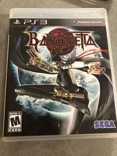 PS3 Game Bayoneta