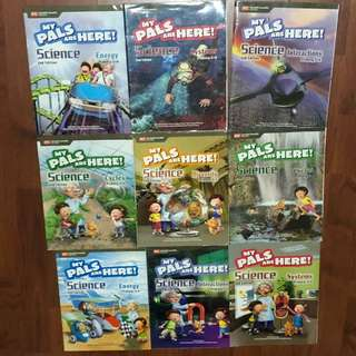 p3-p6 primary science (9 books)