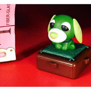 Ocha Ken Green Tea Dog Figure