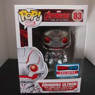 Funko Pop! Marvel Avengers Age of Ultron - Grinning Ultron #083