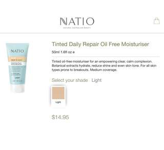 Natio Acne Nude Cream