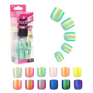 Holographic Press On Nails