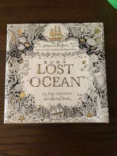 Colouring Book - Lost Ocean