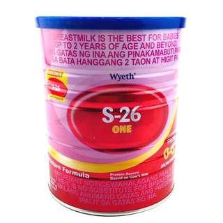 S-26® ONE Infant Formula for 0-6 Months, 900g