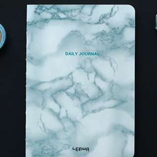 Instock Marble Print NoteBook Daily Journal