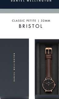 Daniel Wellington Classic Petite Bristol Watch