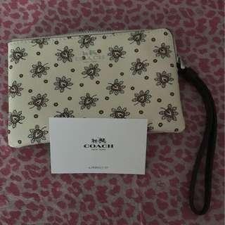 🎀<Mother's Day Sale> Coach Wristlet / Wallet / Floral Handphone Smartphone Pouch