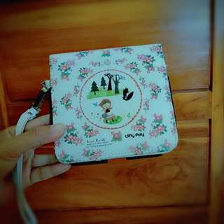 Loly Poly Shinzi Katoh Cute White Handphone Wallet