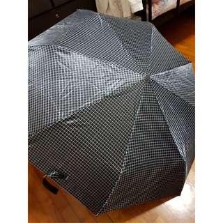 Black Reversible Press-Open Umbrella