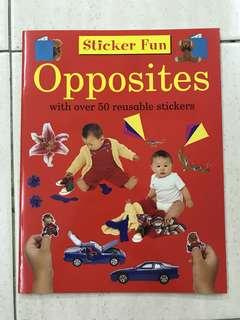 Sticker Fun - Opposites