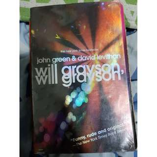PRE-LOVED NOVELS: JOHN GREEN'S WILL GRAYSON