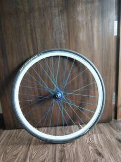 Fixie rear wheel
