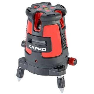 (全新)以色列KAPRO開普路5線激光水平儀 高精度紅外線投線儀鋰電 池可usb充電