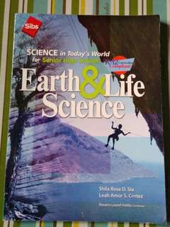 Earth & Life Science K12 Senior High School Book Grade 11 & 12