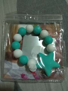 Silicone Baby Teether Bracelet