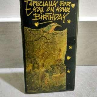 Artwork Birthday Gift Plaque