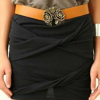 Supre Cross Front Skirt