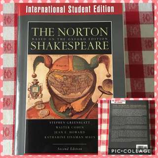 Norton Shakespeare international student edition