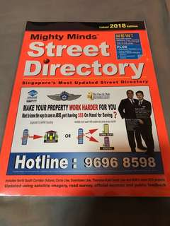 Mighty Minds Street Directory 2018 Edition