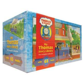 My Thomas Story Library The Complete Collection Boxset (65 Books)