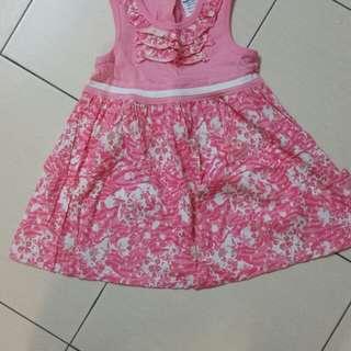 🆕️Baby kiko pink dress